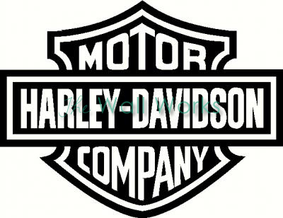 Harley Davidson vinyl decal  sc 1 st  The Wall Works & Harley Davidson wall sticker vinyl decal | The Wall Works