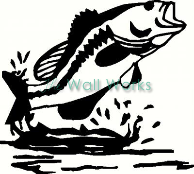 Fish vinyl decal