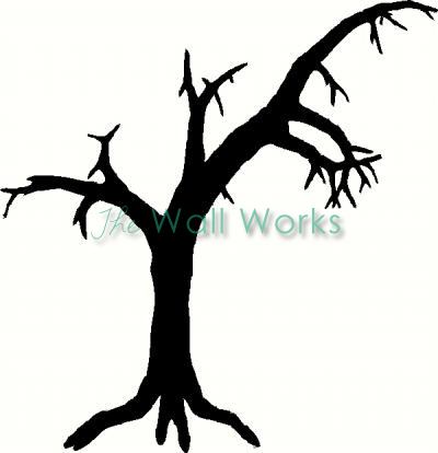 Tree (5) vinyl decal