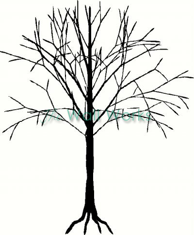 Tree (13) vinyl decal