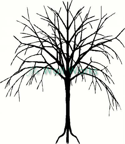 Tree (14) vinyl decal