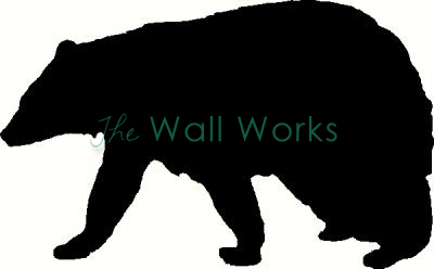 Bear vinyl decal