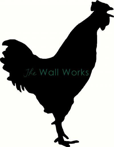 Rooster vinyl decal