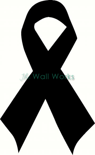 ribbon wall sticker vinyl decal the wall works