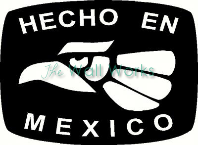 Hecho En Mexico Wall Sticker Vinyl Decal The Wall Works