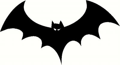 Bat wall sticker, vinyl decal   The Wall Works