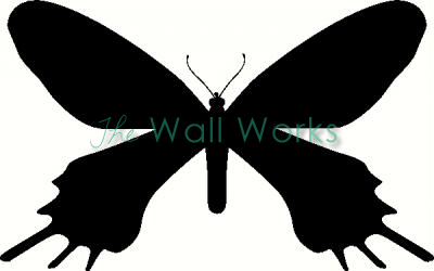 Butterfly 10 vinyl decal