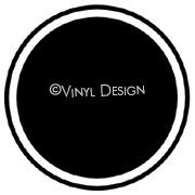 Circle Frame vinyl decal