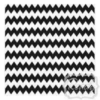 Chevron vinyl decal