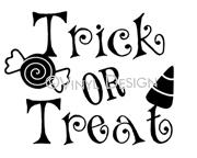 Trick-or-Treat (1) vinyl decal