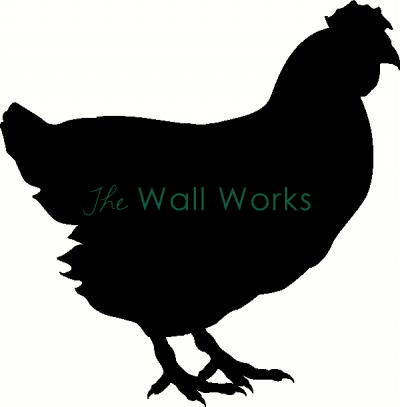 Hen vinyl decal