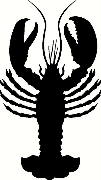 Lobster vinyl decal