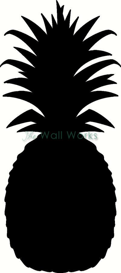 Pineapple vinyl decal kitchen vinyl decals