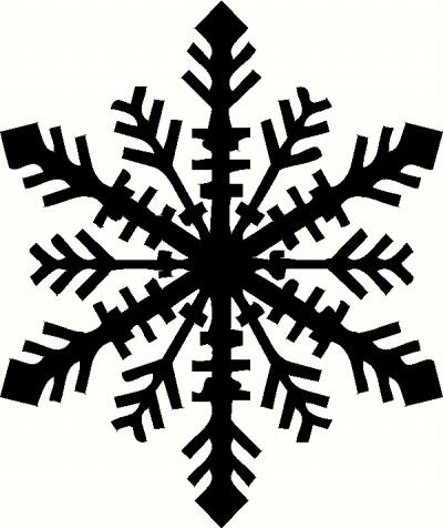 Snowflake Wall Sticker Vinyl Decal The Wall Works