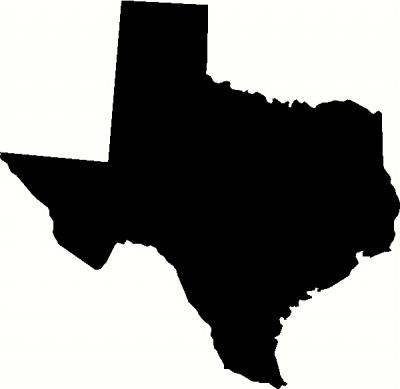 Texas Vinyl Decal | States Vinyl Decals