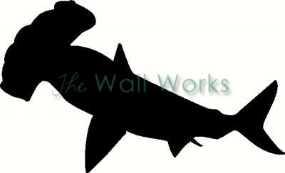 hammerhead shark vinyl decal