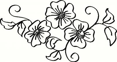 Apple Blossoms vinyl decal