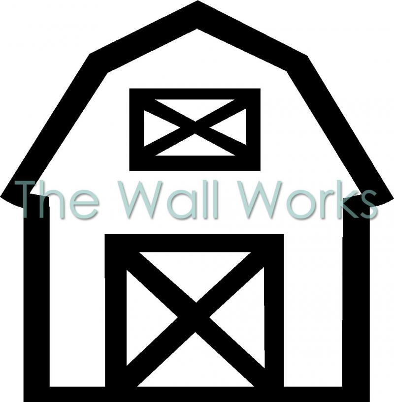 Barn vinyl decal