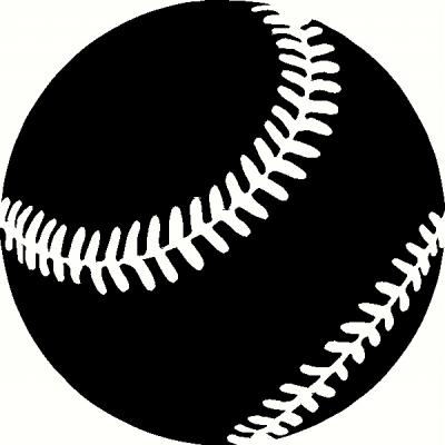 Baseball (1) vinyl decal