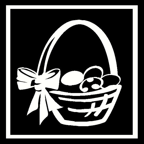 Basket Frame vinyl decal