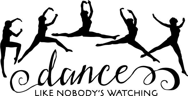 Dance Like Nobody S Watching Wall Sticker Vinyl Decal