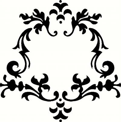 Decor Frame wall sticker, vinyl decal | The Wall Works