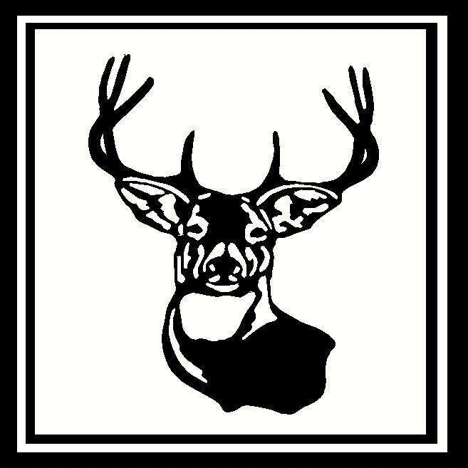Deer Head Frame