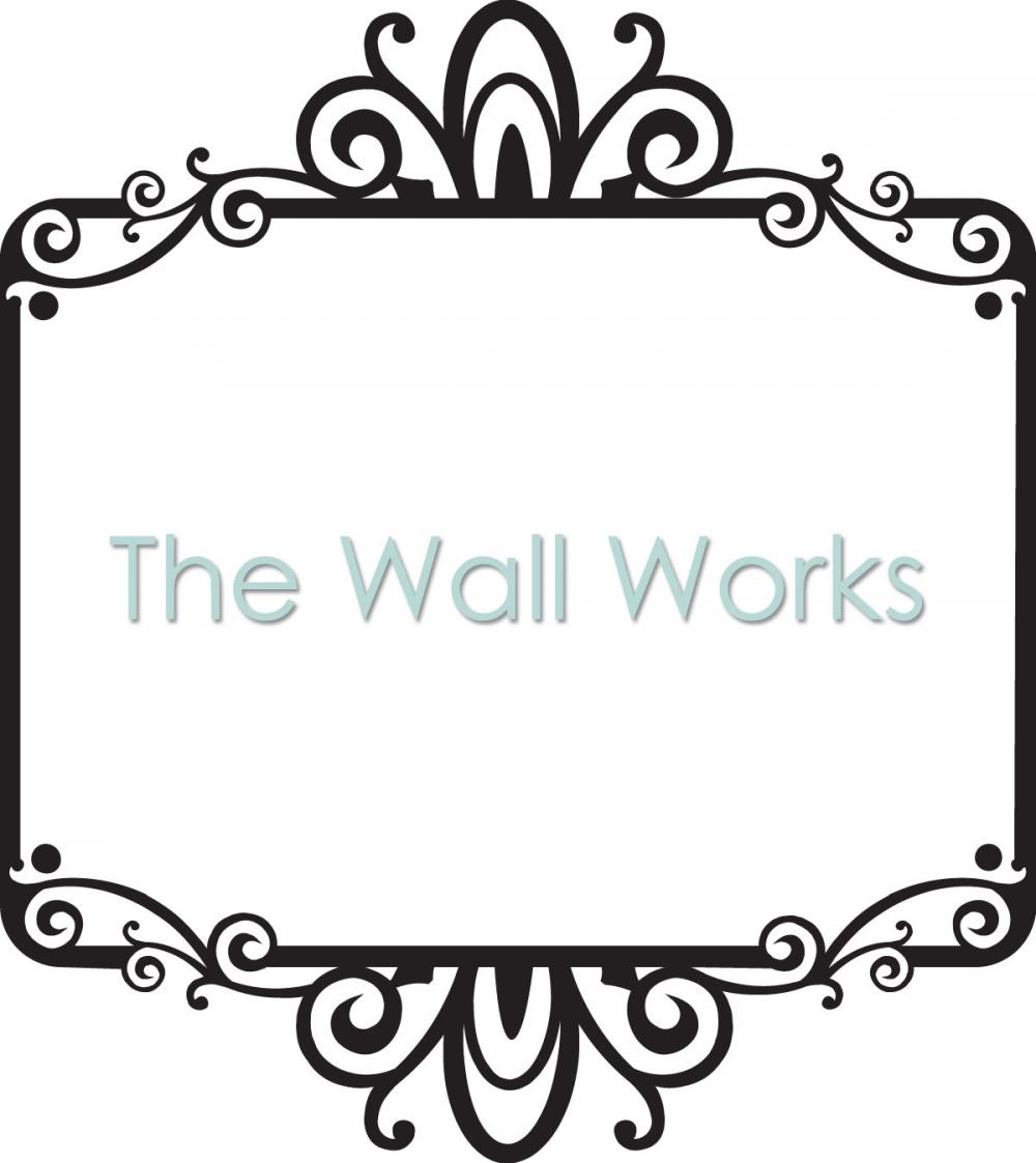 Frame A wall sticker, vinyl decal | The Wall Works