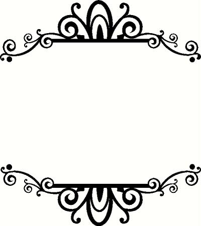 Frame N Vinyl Decal | Borders & Frames Vinyl Decals