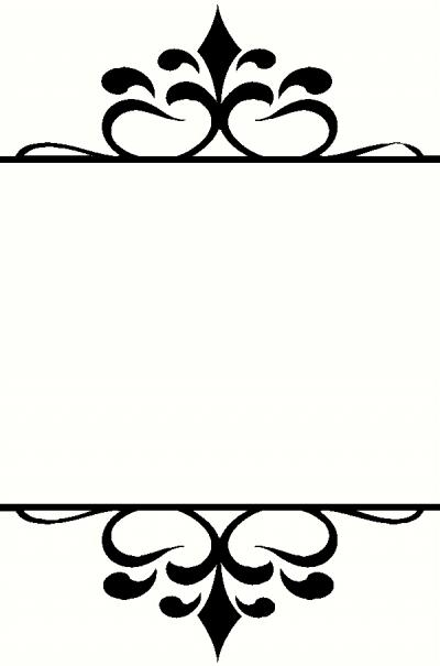 Frame O wall sticker, vinyl decal | The Wall Works