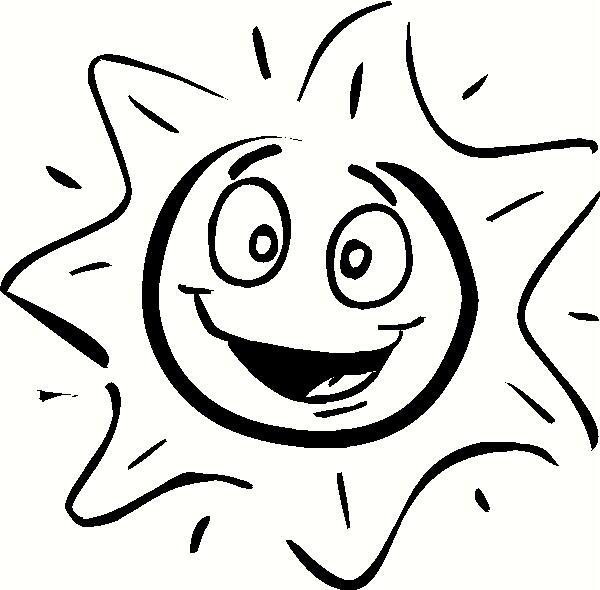 Happy Sun vinyl decal