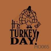 Turkey Day (1) vinyl decal