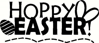Hoppy Easter Wall Sticker Vinyl Decal The Wall Works