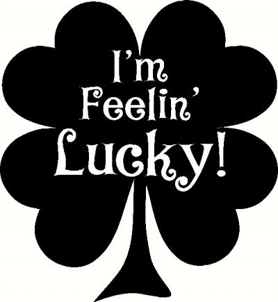 I M Feeling Lucky Wall Sticker Vinyl Decal The Wall Works