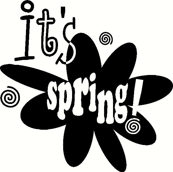 It's Spring! vinyl decal