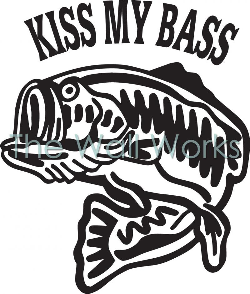 The gallery for bass boat decals for Fishing boat decals
