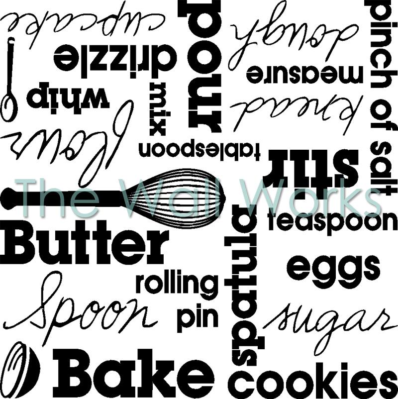 Kitchenaid Subway Decal Wall Sticker Vinyl Decal The