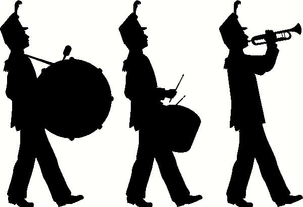 Marching Band vinyl decal