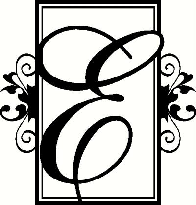 Monogram (8) vinyl decal