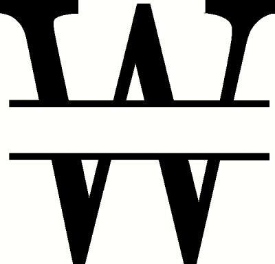 Monogram W