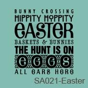 Subway Art - Easter (1) vinyl decal