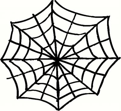 Spider Web (2) vinyl decal