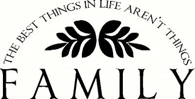The Best Things in Life vinyl decal