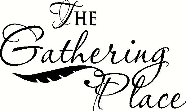 The Gathering Place vinyl decal