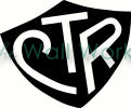 ctr shield vinyl decal