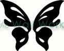 Butterfly Wings vinyl decal