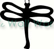 Dragonfly vinyl decal