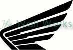 Honda Wing vinyl decal