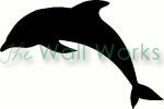 Dolphin vinyl decal