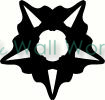 Crest Star vinyl decal